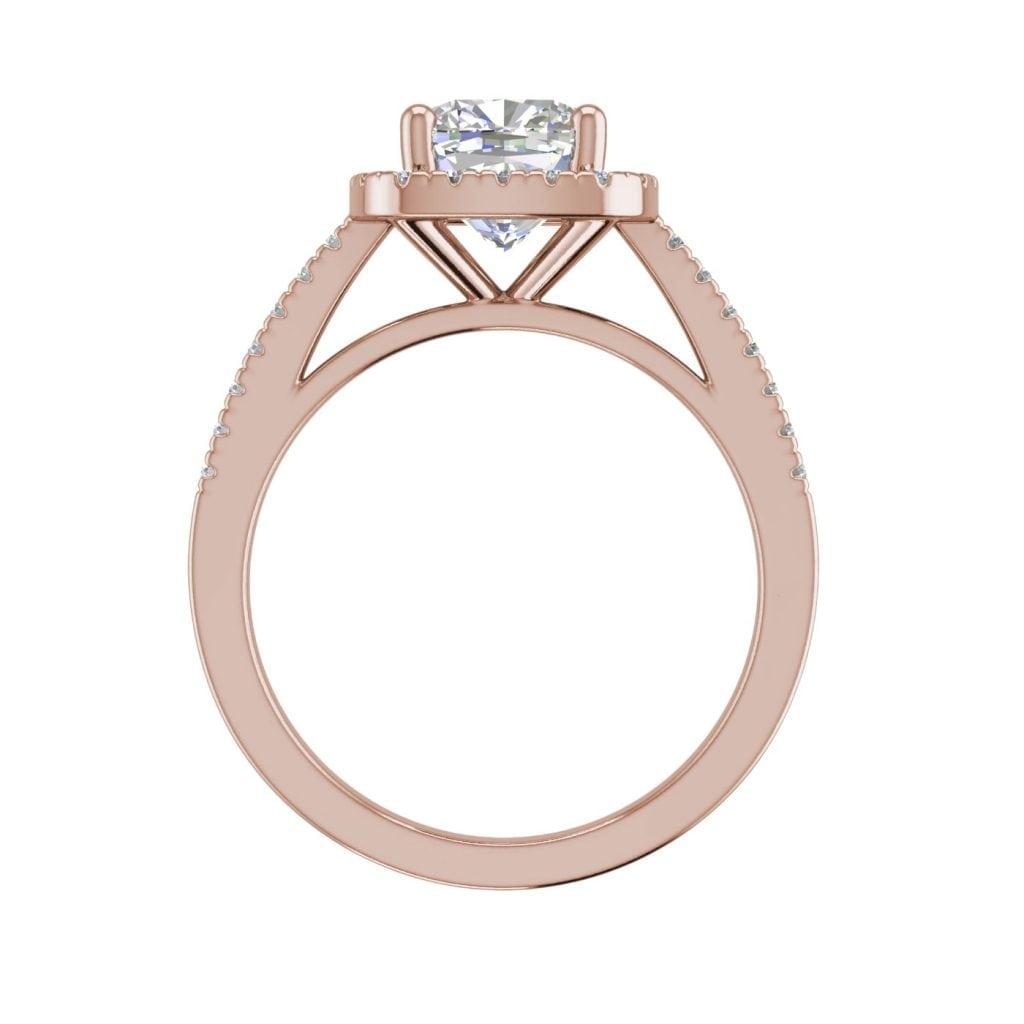 3 2 Carat Vvs1 Clarity D Color Cushion Cut Diamond Engagement Ring